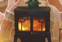 暖炉のある平屋