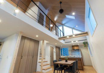 イオスホームの家は気密に優れた自由設計です!